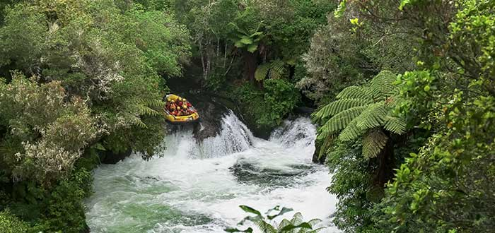 Rafting rio Kaituna