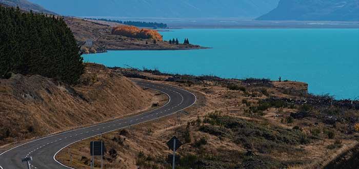 Camino a Pukaki