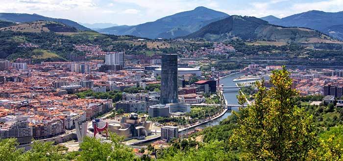 Clima de España_Vista de Bilbao