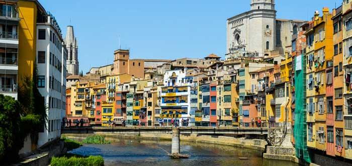 Girona en Cataluña