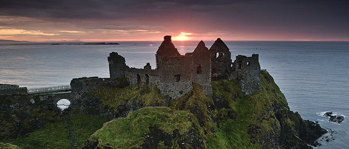 Castillo de Dunluce Irlanda