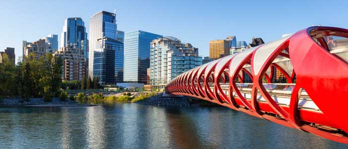 Peace Bridge, Santiago Calatrava, Calgary, Canadá