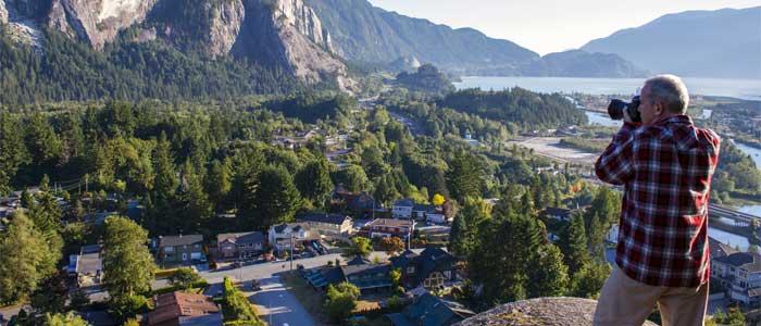 Vivir en Squamish, Canadá