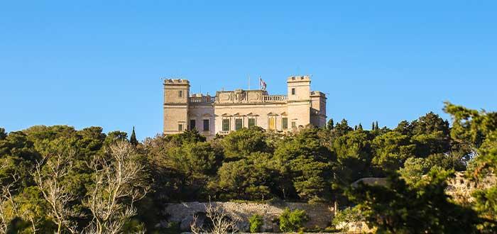 Palacio de Verdala en Buskett