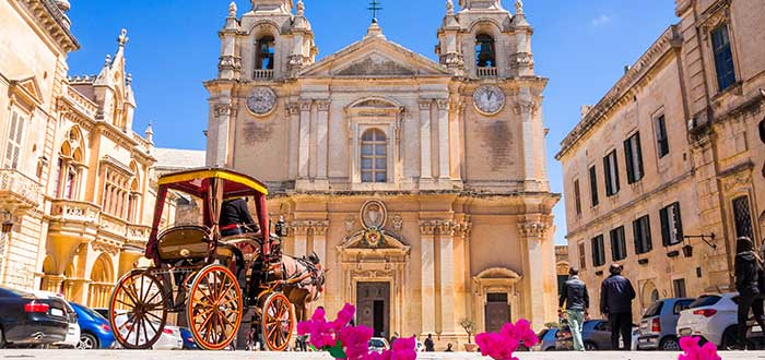 Catedral de San Pablo, uno de los lugares que ver en Mdina Malta