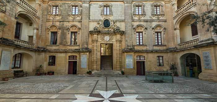 Palacio Vilhena, uno de los lugares que ver en Mdina Malta