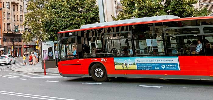 Autobuses transporte publico