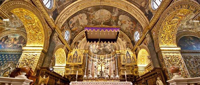 Concatedral de San Juan   Qué ver en La Valeta