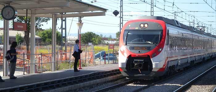 Tren de Cercanías, parte del Transporte Público de Madrid
