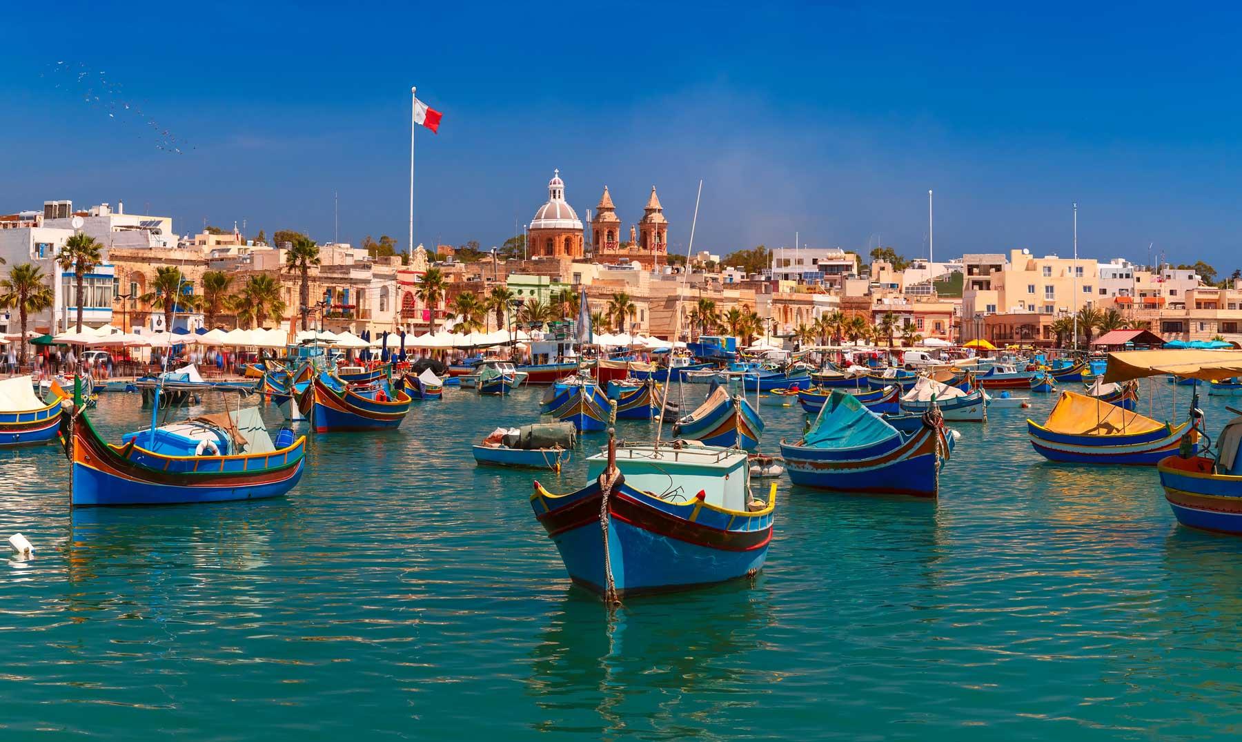 La Valeta, Malta.