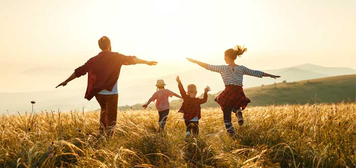 Familia neozelandesa, calidad de vida.