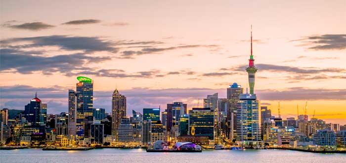 Estudiar en Auckland.