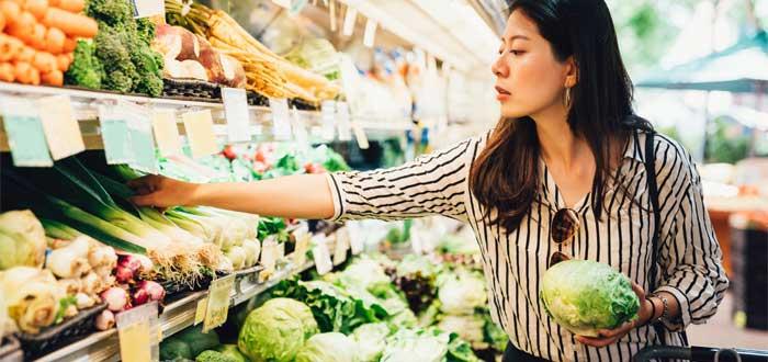 Gastos de supermercado en Australia.