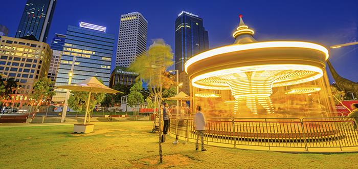 Vida nocturna en Perth