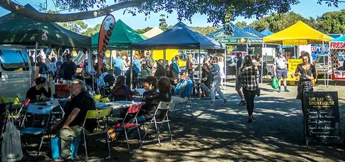 Mercados artesanales en Byron Bay