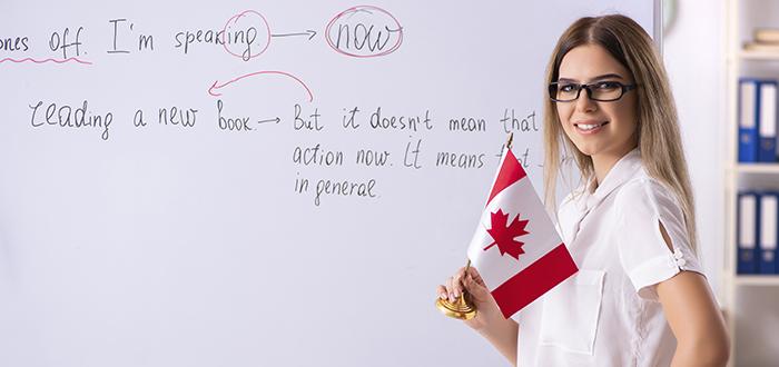 Inglés en Canadá