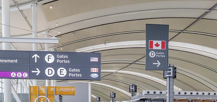 Aeropuerto Canadá