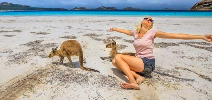 Australia, un gran destino para quienes figuras o remesas furioso.