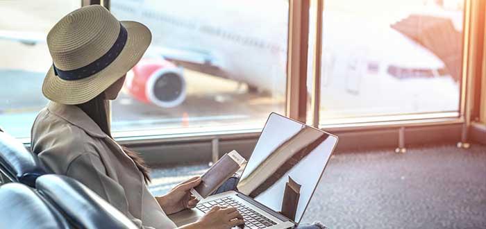 Pórtate bien en el aeropuerto ante de volar por vez primera