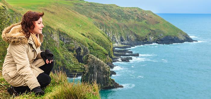 Turista en Irlanda