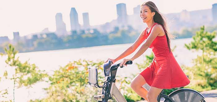 Vida ecofriendly, toma la bicicleta y disfruta de la naturaleza en Montreal