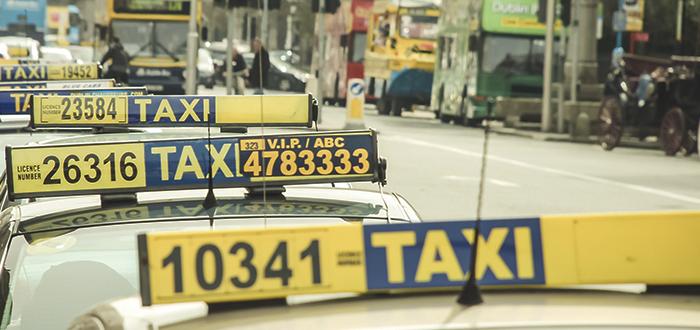 taxi en dublín