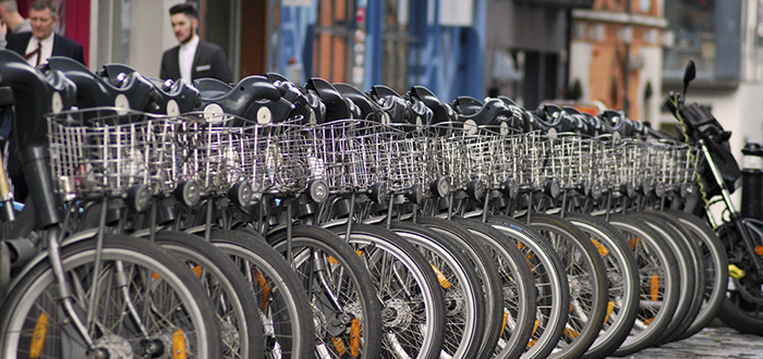 Alquiler de bicicletas en Dublín